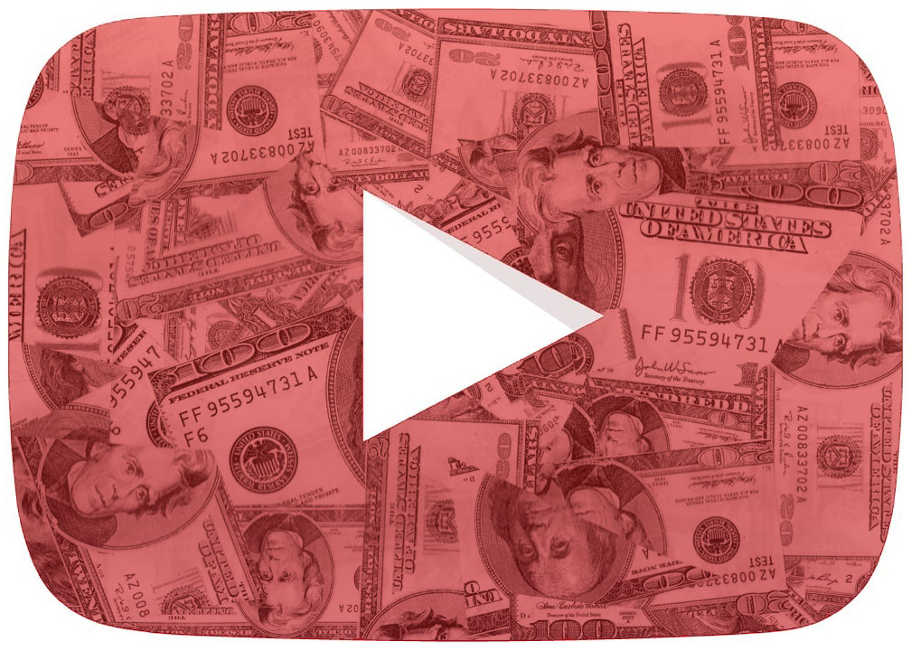 YOUTUBE DROPOUT: YouTube logo made of money. There's still a chance to be a high school dropout and still be successful. Although, the chances are very minimum and here are many other components to consider.