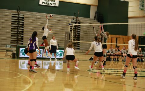 JV Volleyball Edges Out Skyline