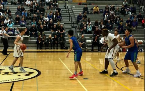 Varsity Boys' Basketball Starts Season Strong with Contested Win vs. Liberty