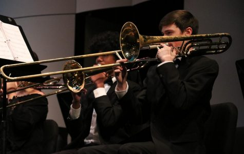 Concert Band and Wind Ensemble Give Rousing Performances with Challenging Pieces