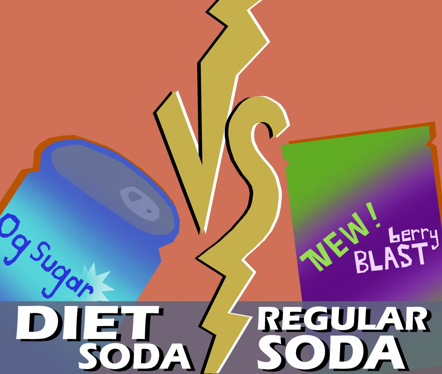 THERE IS NO GOOD OPTION: The health risks of all sodas make even one glass far too much.