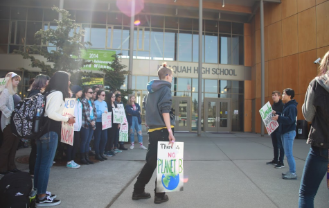 Walkout for Change: IHS Students Take a Stand for Our Environment