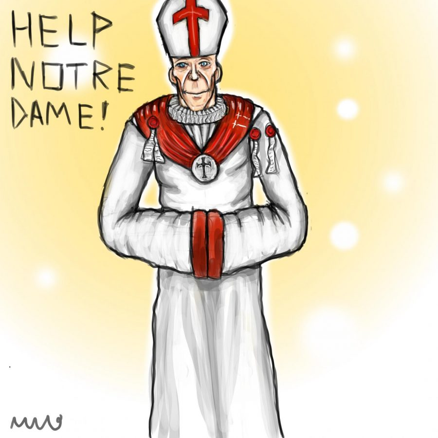 Notre+Dame+Fire+Compels+Many+to+Donate