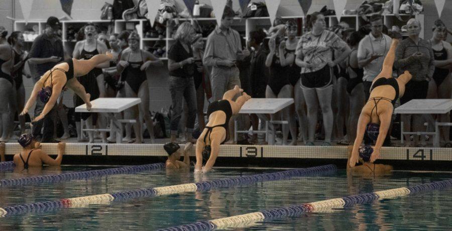 Issaquah Girl's Swim Beats Skyline