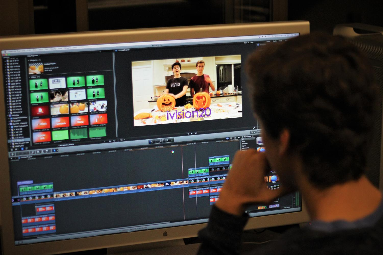 HIGHER QUALITY With the switch to a once-per-week timeslot, the iVision crew has more time to edit videos.