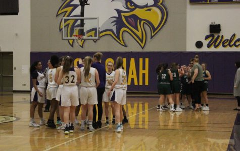 Victory for Girls' Varsity Basketball